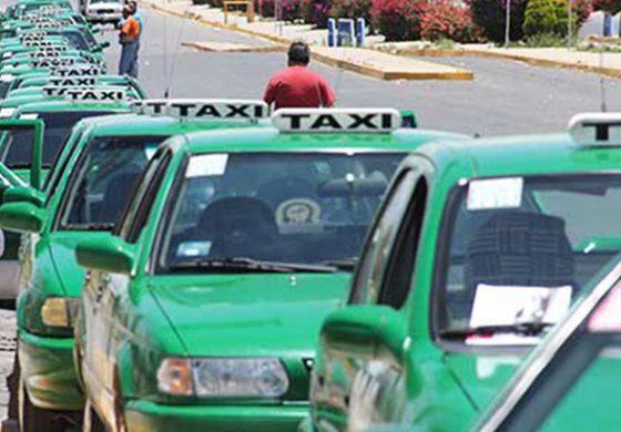 Los Tsuru fuera de servicio en los taxis