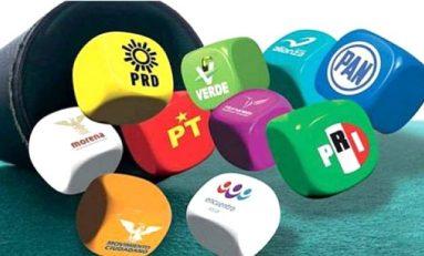 Sanciones por 20 mdp a partidos políticos
