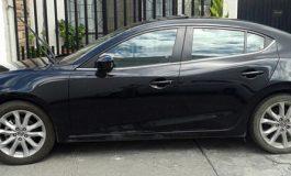 Recuperan vehículo robado de reciente modelo