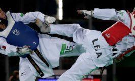 Manjarrez y Navarro inician con triunfo en TKD