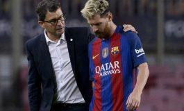 """Bauza se queja del Barça por """"no cuidar"""" a Messi"""