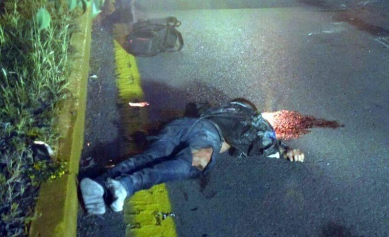 Motociclista fallece en la Matehuala