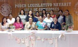 Usan sala del Congreso de Nayarit para organizar un baby shower