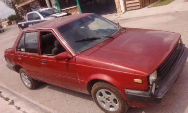Fuerzas Municipales recuperan vehículo con reporte de robo