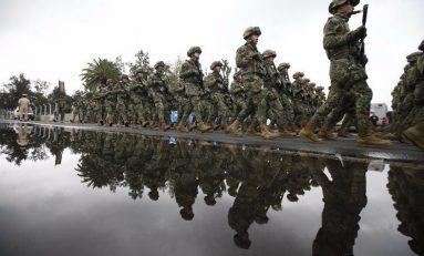 Fuerzas Armadas en el Desfile del 16 de Septiembre