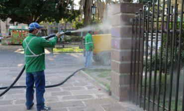 Más de 300 mil pesos se han invertido en limpia de graffitis