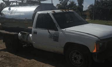 Policia Federal asegura 280 litros de emulsión asfáltica en CD Valles