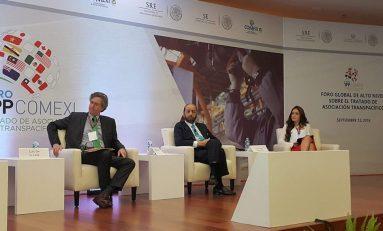 Torres Corzo participa en foro de alto nivel del TPP