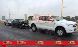 Dos choques en la carretera a Rioverde
