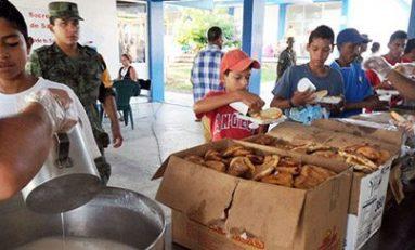 Casi 2 mil personas en refugios, por el huracán Newton