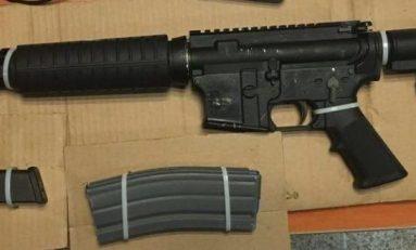 PME de SLP detiene a dos personas con arma de fuego y a dos por tentativa de homicidio en QRO