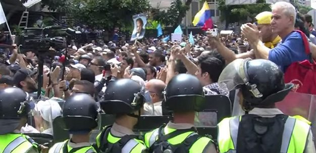 """Toma de Caracas: """"Salimos a marchar o nos morimos de hambre"""""""