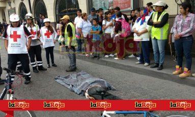Urbano mata a ciclista en la Alameda