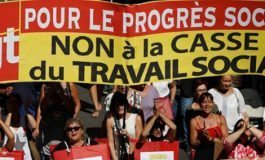 Policía francesa calcula 78 mil manifestantes contra ley laboral