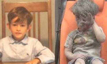 Niño de EU le ofrece su hogar a Omran, el pequeño de Siria