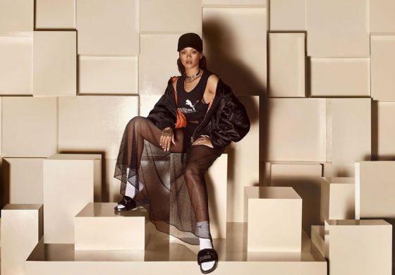 Rihanna lanza su nueva colección de moda para Puma
