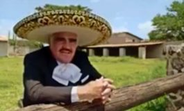 Lanza Vicente Fernández 'El corrido de Hillary'
