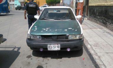 Agentes Municipales logran ubicar otro vehículo con reporte de robo