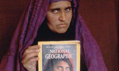 """Niña afgana"" vuelve al escenario mundial, detenida"