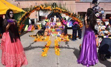 Se realizó el concurso de altares de muertos en Soledad