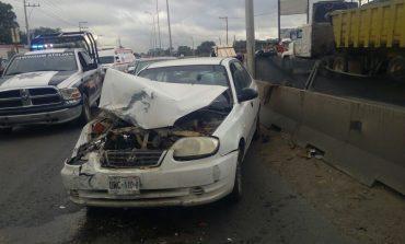 Cuantiosos daños por accidentes en Periférico Oriente