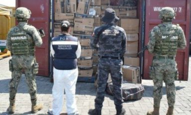 Aseguran en Manzanillo contenedor con cien kilos de cocaína