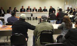 Acuerdan Familiares de desaparecidos y PGJE fortalecer búsqueda