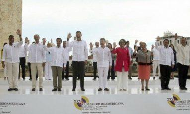 Respaldo de líderes iberoamericanos al proceso de paz en Colombia