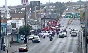 Dispositivo especial por manifestación del MAP, informa Policía Vial