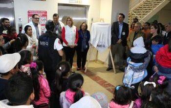 Inicia jornada de valoración médica a niños con secuelas por quemaduras