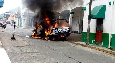 Violentas protestas en Catemaco por desaparición de párroco
