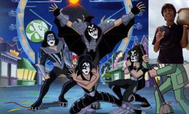 Kiss invita a Paco, el niño de las empanadas, a su concierto