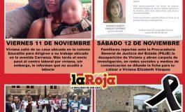 Viviana, segunda víctima de feminicidio durante el fin de semana