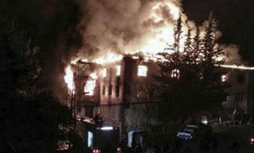 Mueren 12 en incendio de dormitorio escolar en Turquía