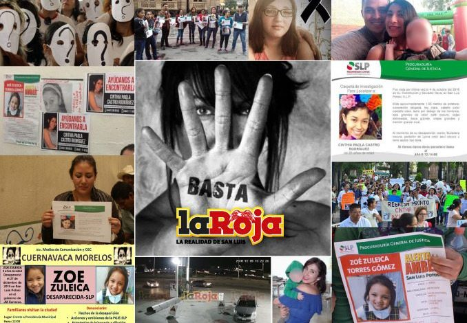 Son 44 las desaparecidas en SLP: Diputadas