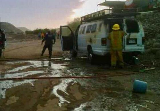 Bebé de tres meses muere calcinada; dormía dentro de una camioneta