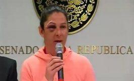 Sospechan de policía en agresión a Ana Gabriela Guevara
