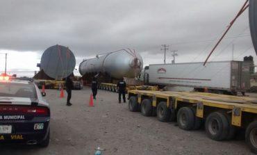 Operativo especial por traslado de reactores de Pemex se mantendrá hasta el viernes