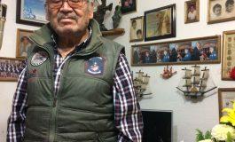 Liborio Sánchez, rescatista vitalicio de la Cruz Roja