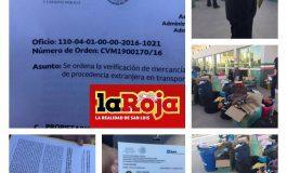 Empleados del SAT roban más de 50 mil pesos en mercancía a paisano oaxaqueño