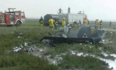 Cae avión militar y fallecen sus dos tripulantes, en Sonora