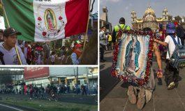 Más de dos millones de peregrinos arriban a la Basílica de Guadalupe