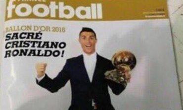 Cristiano Ronaldo gana el Balón de Oro de France Football