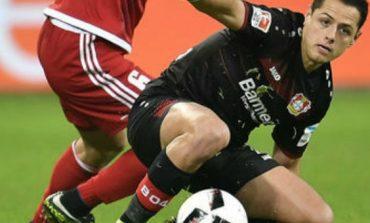 Leverkusen cae ante Ingolstadt; Chicharito se va otra vez en blanco