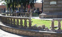 Jardín Colón y Monumento a la Bandera, zonas emblemáticas más dañadas