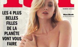 Elsa Hosk se desnuda para la revista 'Lui'