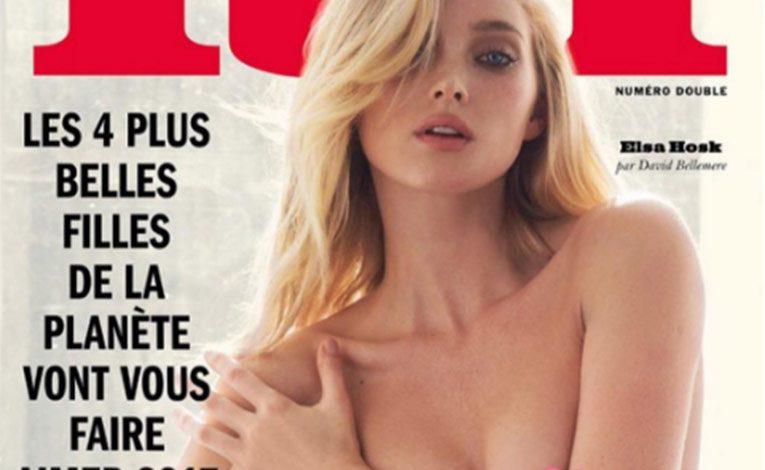 Elsa Hosk Se Desnuda Para La Revista Lui La Roja