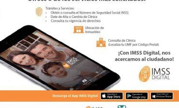 Invita IMSS a derechohabientes a utilizar servicio digital