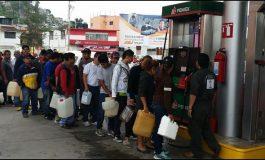 desabastecimiento de gasolina en 15 estados de México