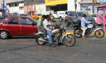 Implementan operativo contra motocicletas